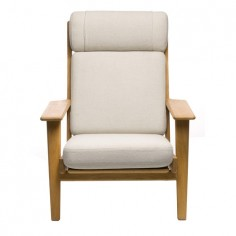 High Back Plank Chair