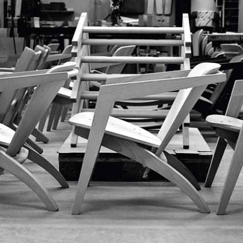Butterfly Chair Black Version