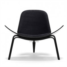 Shell Chair Black Version