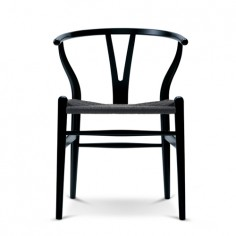 Wishbone Chair Black Version