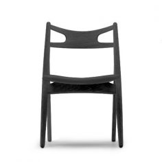 Sawhorse Chair Black Version