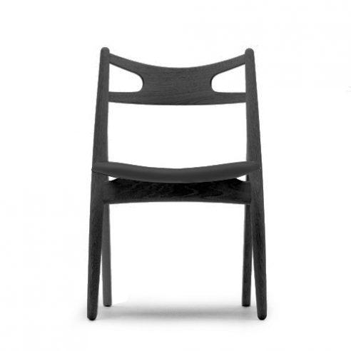 Sawhorse Chair Black Version