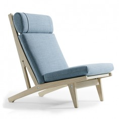 High back connectable chair