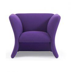 Mondial high armchair