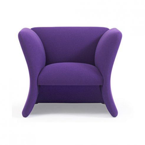 Mondial high armchair