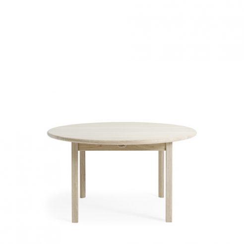 Circular sofa table