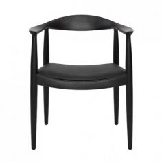 Round Chair Black Version