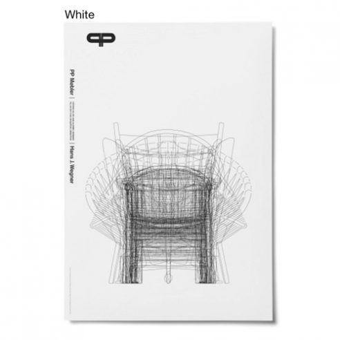 White Overlay Poster