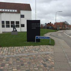Wegner-plads-signage